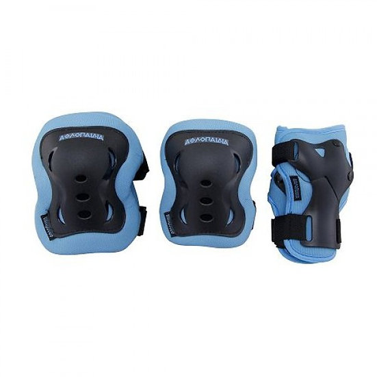 Athlopaidia - Protective Gear Set Kids blue -  S + XS
