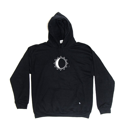 Stay K - Logo Hoodie - black/silver needlecraft