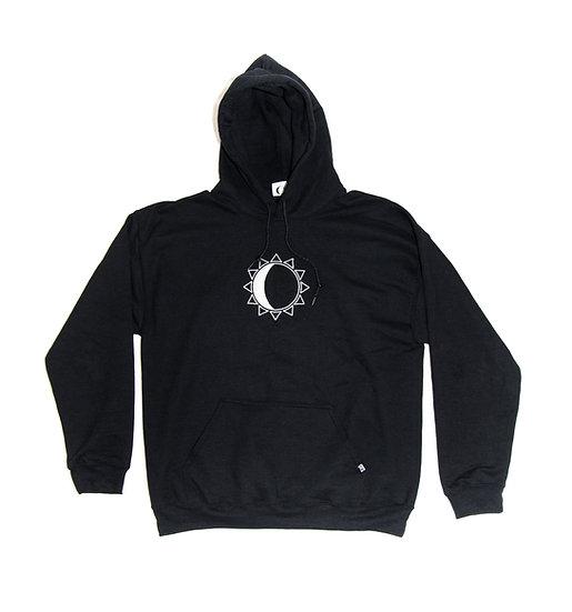 Stay K - Logo Hoodie - black/silver needlecraft
