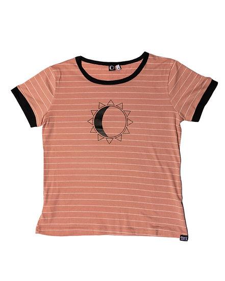 Stay K - Stripes Women - baby pink/white/black
