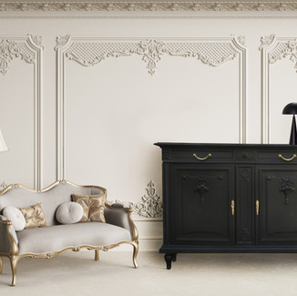 Buffet Louis XVI noir