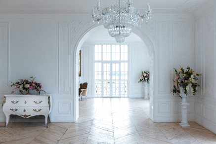 Commode Louis XV blanche