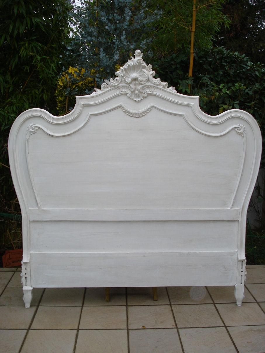 tete de lit louis xv. Black Bedroom Furniture Sets. Home Design Ideas