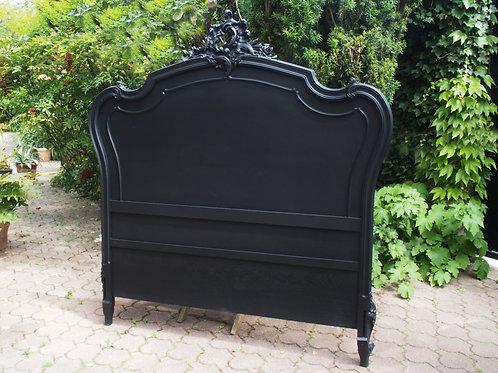Tête de Lit de Style Louis XV Noire - ALBEN168