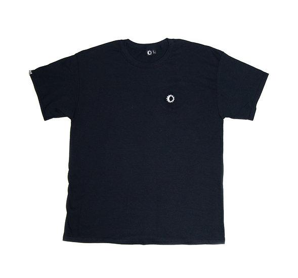 Stay K - Chest Logo - black/white needlecraft