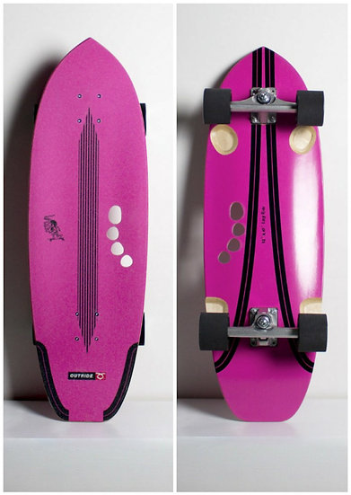 Outride - Surf Skate - Easy Ride pink