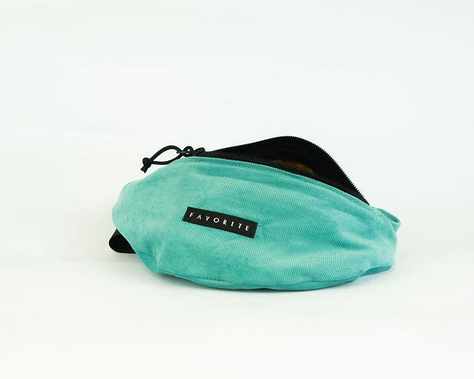 Favorite - Corduroy Hip Bag - petrol