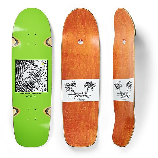 Polar - Freedom pro Sanbongi - 9.0 surf shape