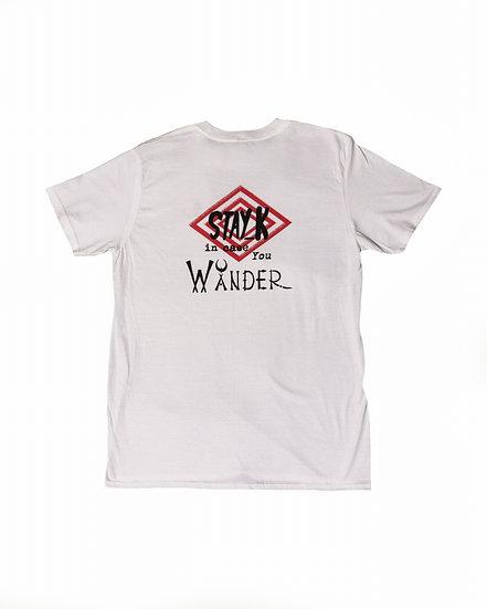 Stay K - WåNDER - white/black/red