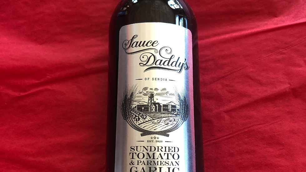 Sundried Tomato & Parmesan Garlic Olive Oil