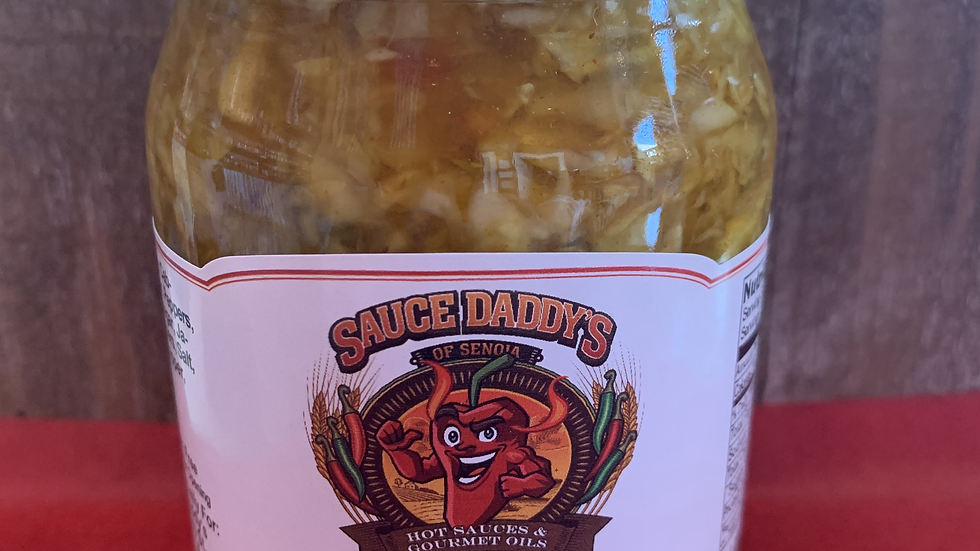 Sauce Daddys Hot Chow Chow