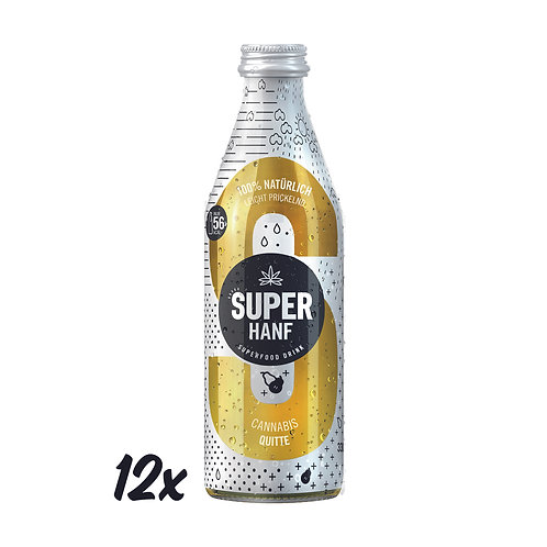 SUPER HANF mit Quitte 330ml (12er)