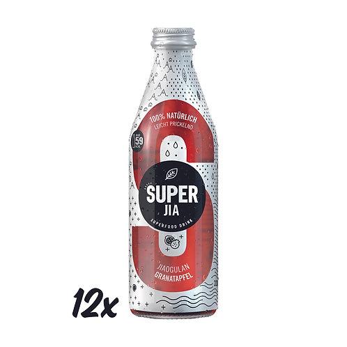 SUPER JIA mit Granatapfel 330ml (12er)