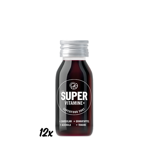 SUPER VITAMINE+ Shot 60ml (12er-Pack)