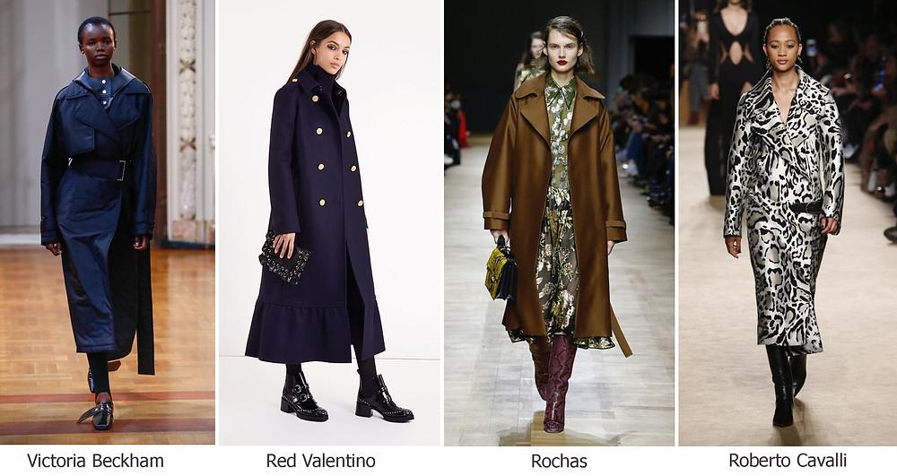 тренды сезона, осень зима 2018, модные пальто, фактура