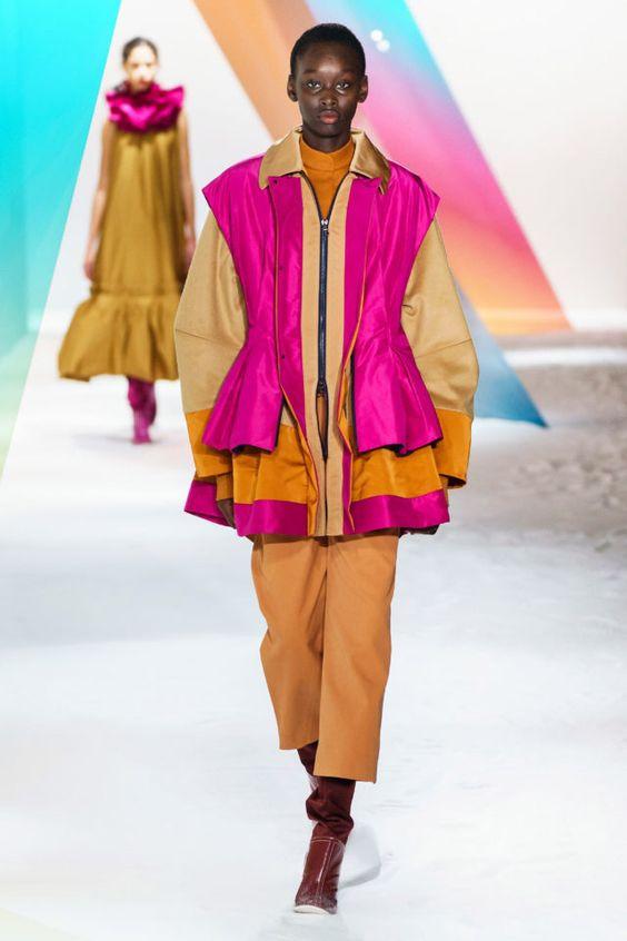 тренды сезона осень зима 2019 2020, модная одежда, тренд, яркий жилет