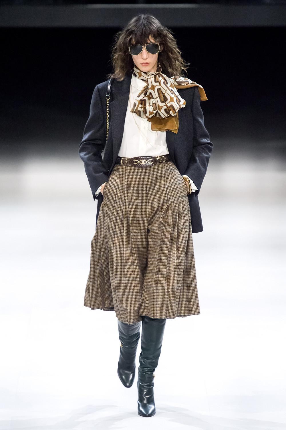 тренды сезона осень зима 2019 2020, стилистическое направление, аутентичный стиль 70-х, стильный образ