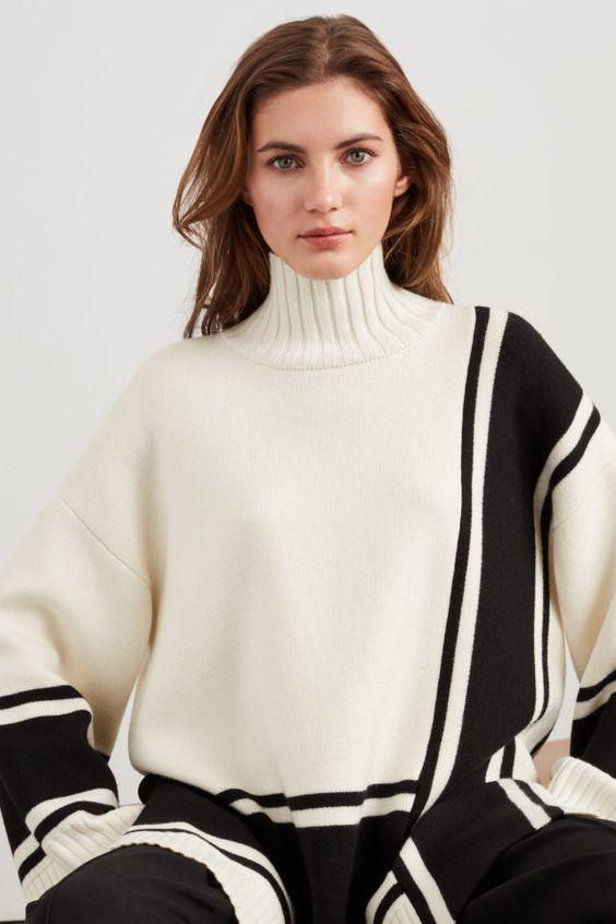 теплый свитер, стильный свитер, белый свитер, современный свитер, удобный свитер