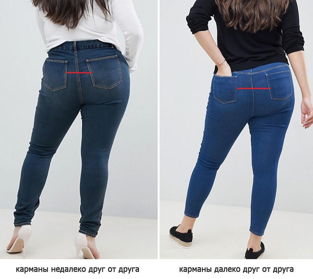 джинсы для полных, как выбрать чтобы джинсы стройнили