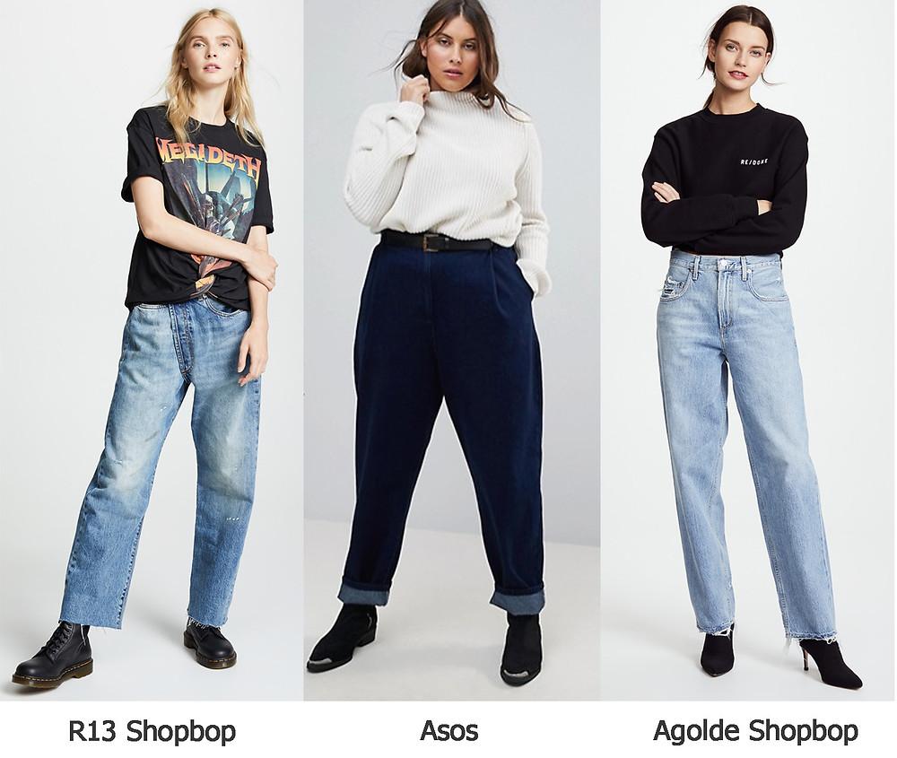 джинсы бойфренд, джинсы асос