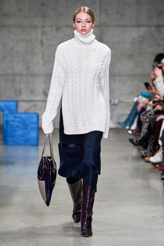 теплый свитер, стильный свитер, современный свитер, длинный свитер