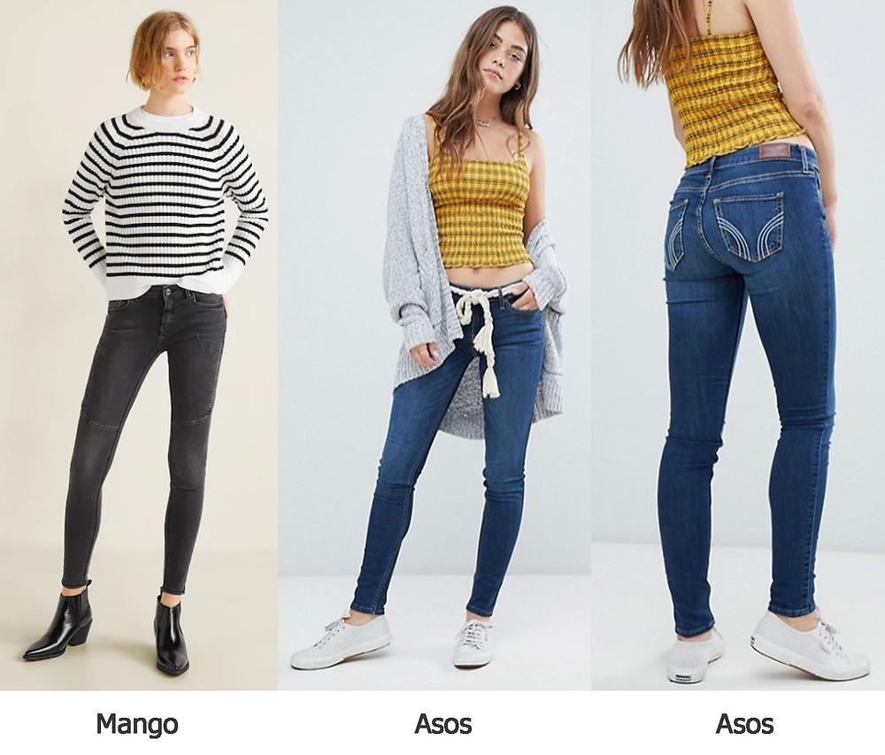джинсы с заниженной талией, джинсы асос, джинсы манго
