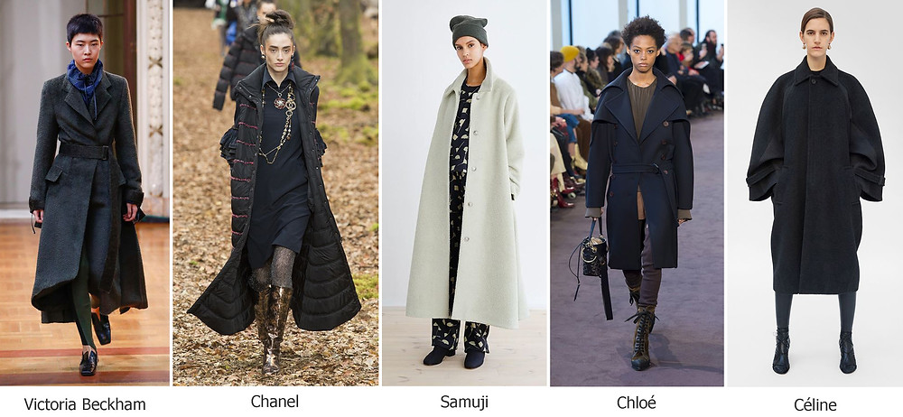 тренды сезона, осень зима 2018, модные пальто