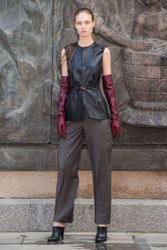 тренды сезона осень зима 2019 2020, модная деталировка, тренд, длинные перчатки