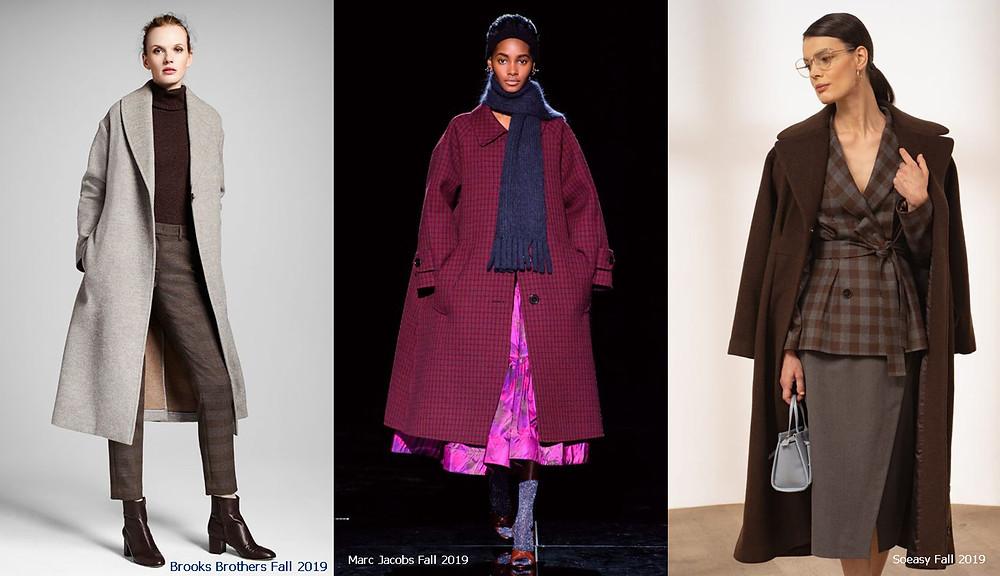 пальто, осеннее пальто, пальто миди, теплое пальто