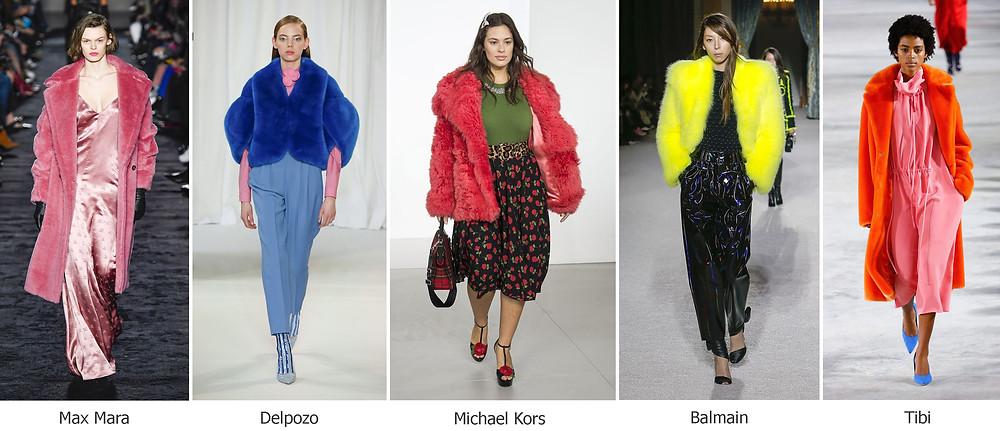 тренды сезона, осень зима 2018, модные шубы
