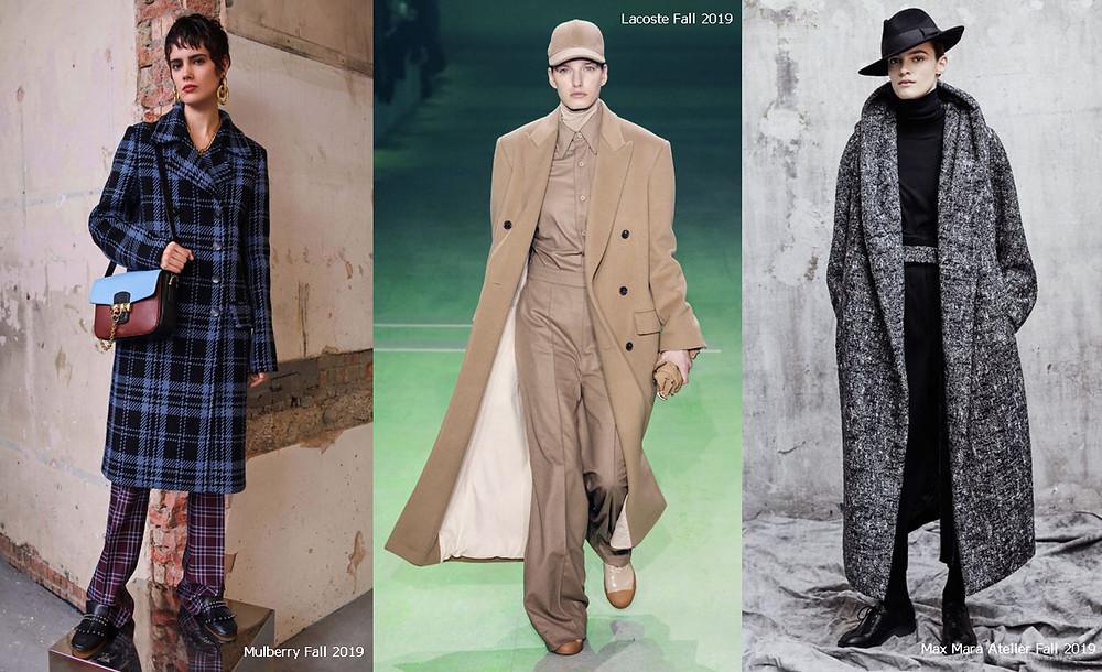 пальто, осеннее пальто, прямое пальто, теплое пальто