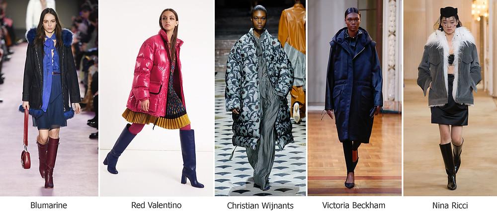 тренды сезона, осень зима 2018, модные куртки