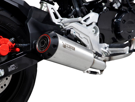 HONDA MSX 125 - NEW SCORPION EXHAUST