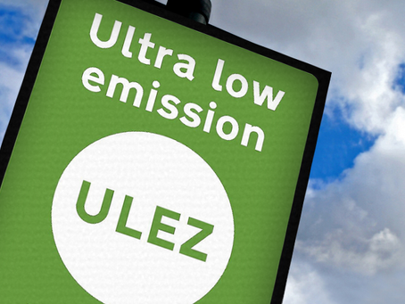 The Ultra Low Emission Zone (ULEZ) It's here.