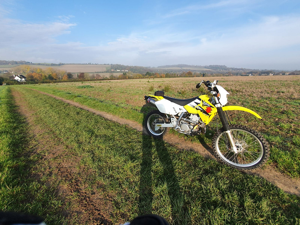 Out on the byways - DRZ 400