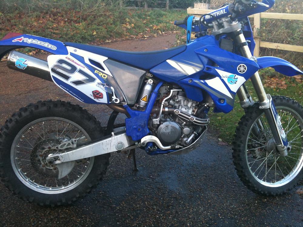 Yamaha WR 250 WR250F Enduro