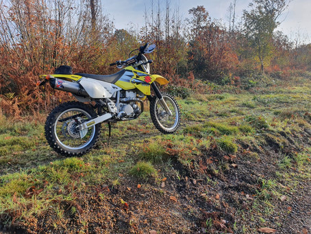 Suzuki DRZ400s - Didn't she do well!!