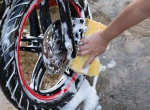 Motorcycle cleaning tips