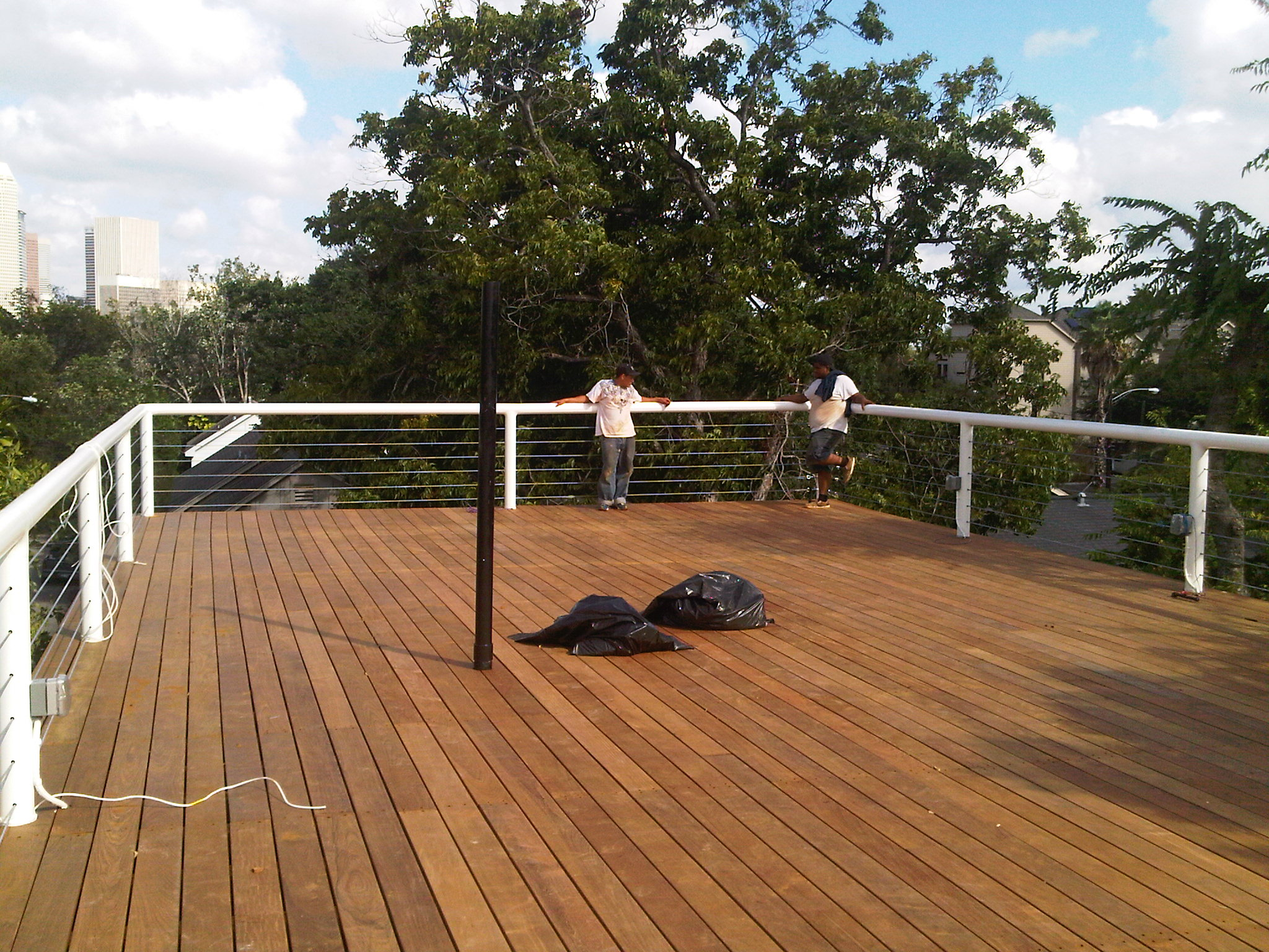 Roof Deck Complete