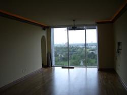Living Room w/ Cove Lighting