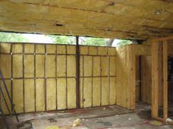 Wood Frame w/ Insulation