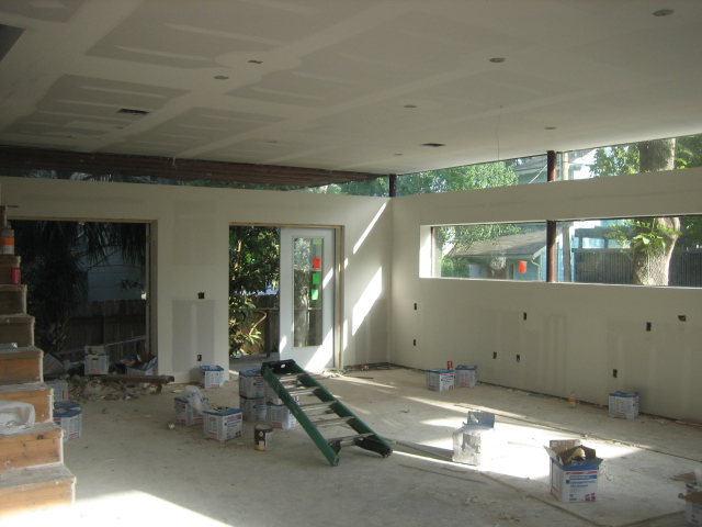 Sheetrocked - Living ARea