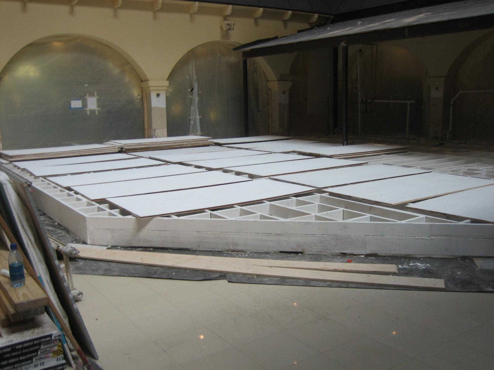 Bar Platform - Fire Proofing