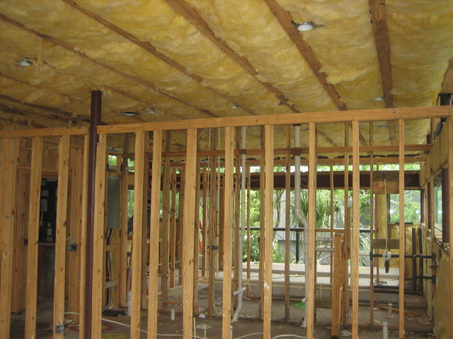 Wood Frame w/ Insulation