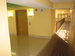 Upgraded Elevator Landing & Hall