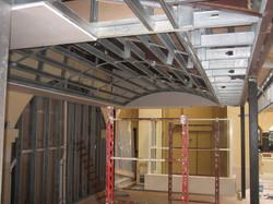 Lobby Ceiling - Framing