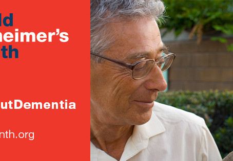 September is World Alzheimer's Month