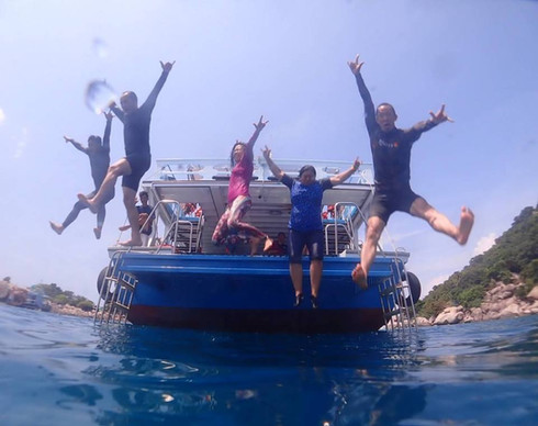 เพราะหัวใจเราเดียวกัน Freediving Buddy
