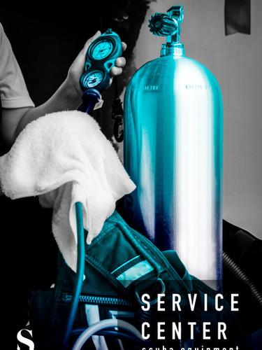 SCUBA service center