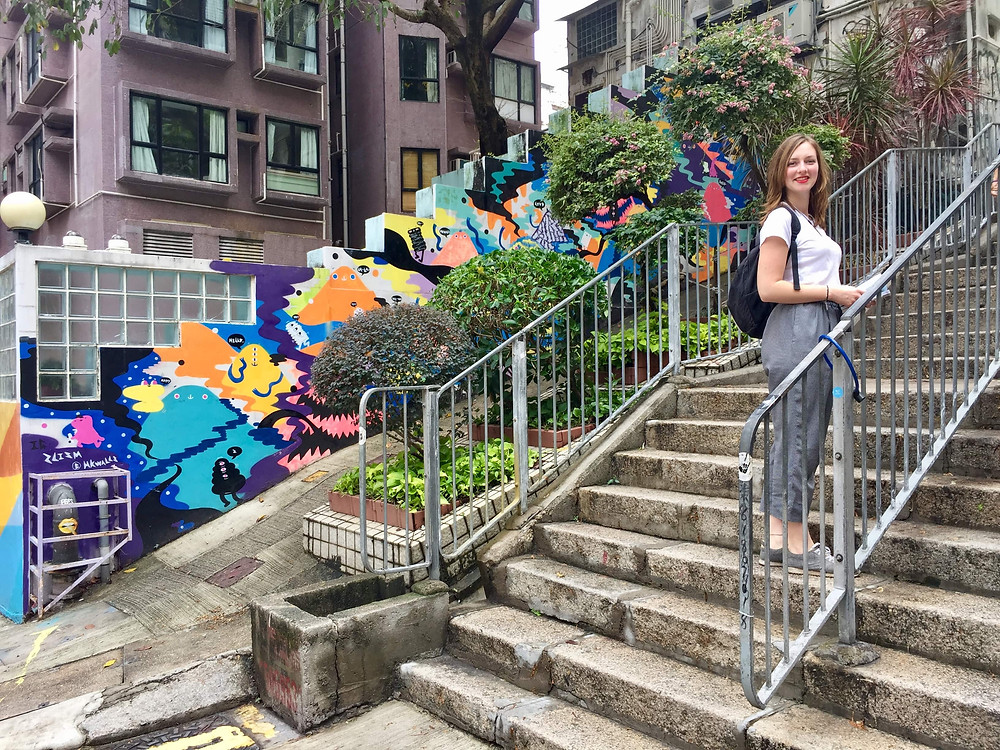 Sheung Wan kunst in Hong Kong